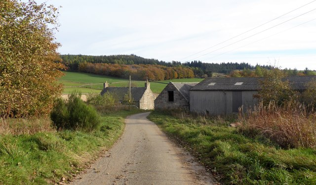 Approach to Corquhittachie from Skerryalva
