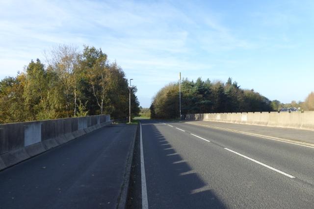 B1222 crosses the A64