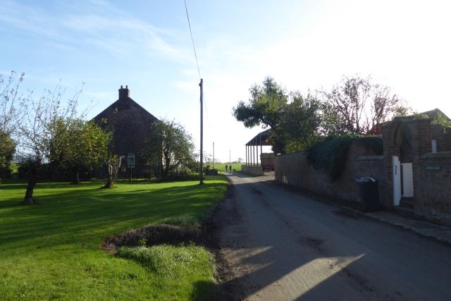 Towards Sycamore House Farm