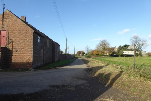 Lordship Lane from Ings Lane
