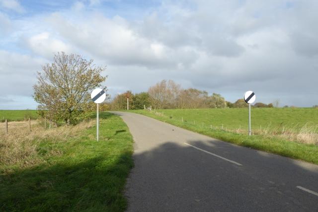 Start of Marsh Lane