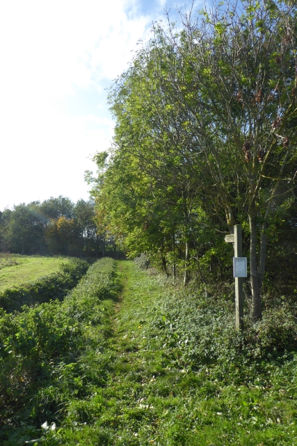 Footpath off Marsh Lane