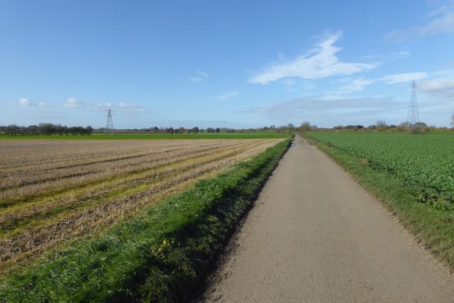 Looking along Ings Lane