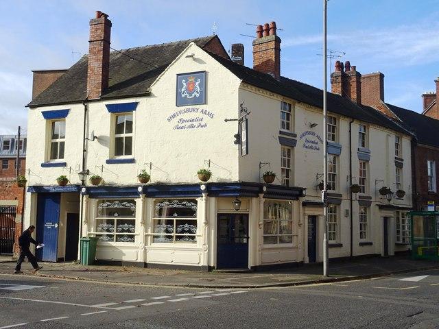 Shrewsbury Arms PH