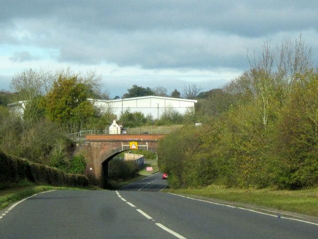 Railway Line to Paddington Over B4084