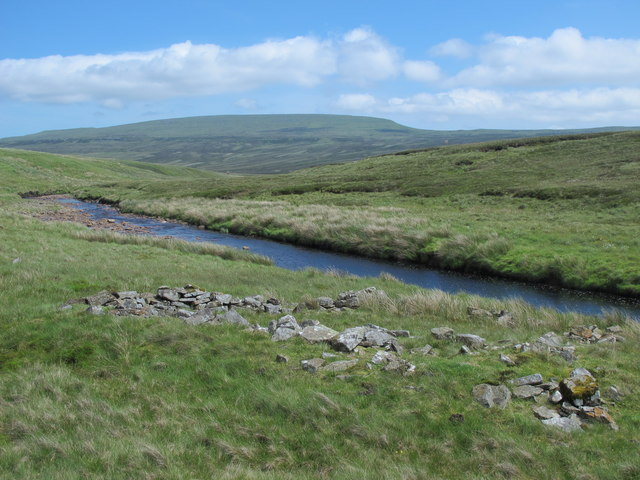 Ruined sheepfold by Maize Beck