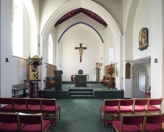 Our Lady & St John the Evangelist, Sudbury - East end