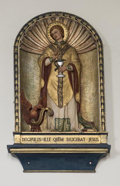 Our Lady & St John the Evangelist, Sudbury - Relief