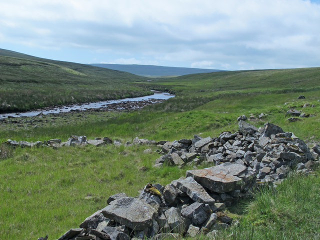 Ruined sheepfold by Maize Beck (2)
