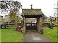 SE0636 : St John the Evangelist, Cullingworth - lych gate by Stephen Craven