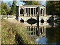 SP6737 : The Palladian Bridge, Stowe Park by Philip Halling
