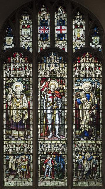 St Gregory, Sudbury - Stained glass window