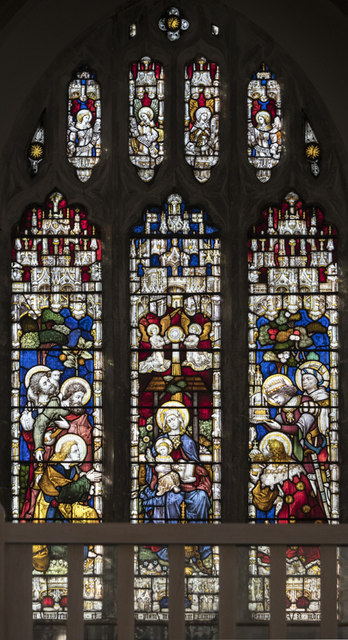 St Gregory, Sudbury - Stained glass window