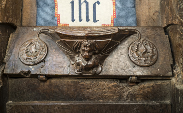 St Gregory, Sudbury - Misericord