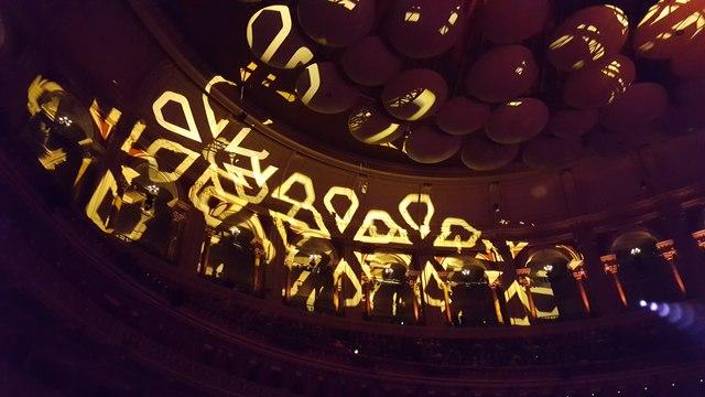 Interior of Royal Albert Hall, Kensington Gore, London