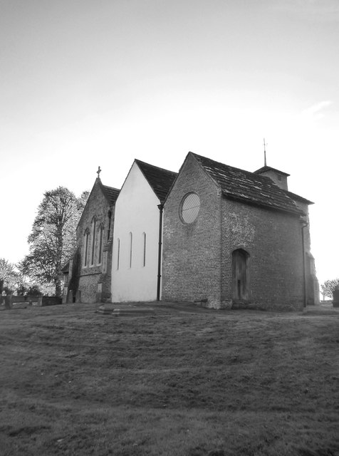 Wotton church from the north-east