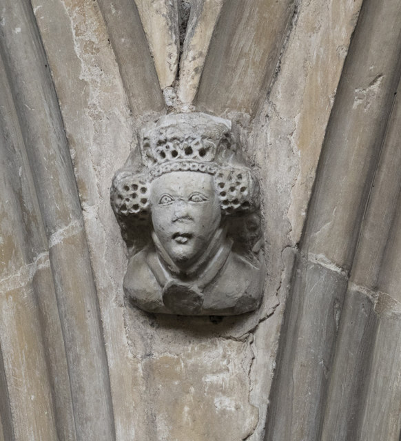 St Mary, Stoke by Nayland - Label head