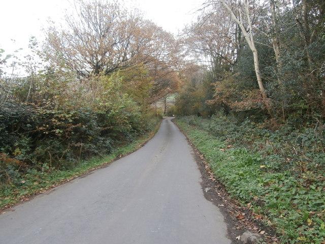 Road near Ty-yr-heol