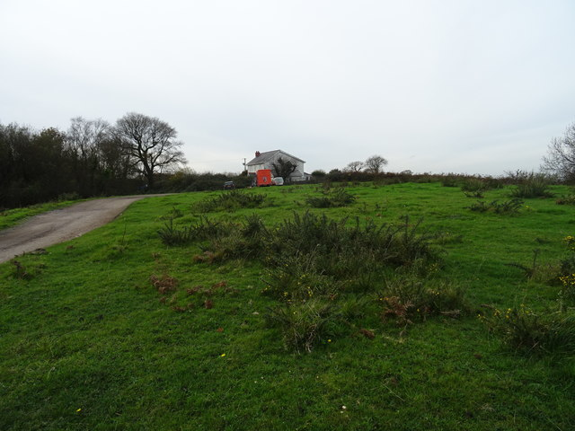 Farm on the edge of Welsh Moor