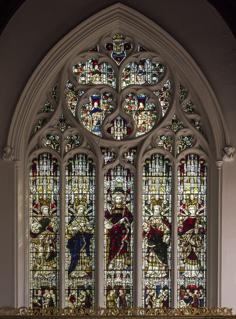 St Giles, Norwich - Stained glass window