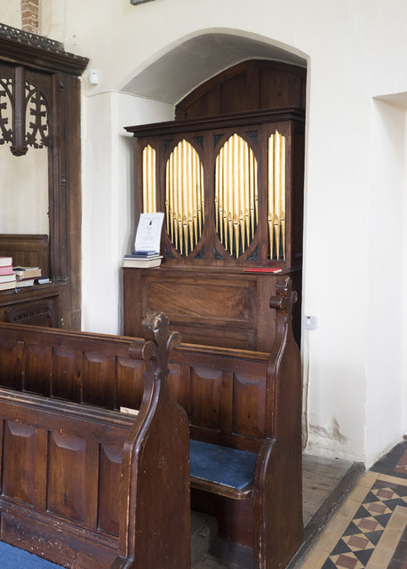 Holy Innocents, Lamarsh - Organ
