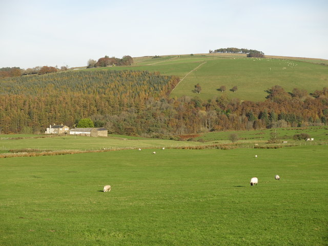 Farmland west of Crowberry Hall