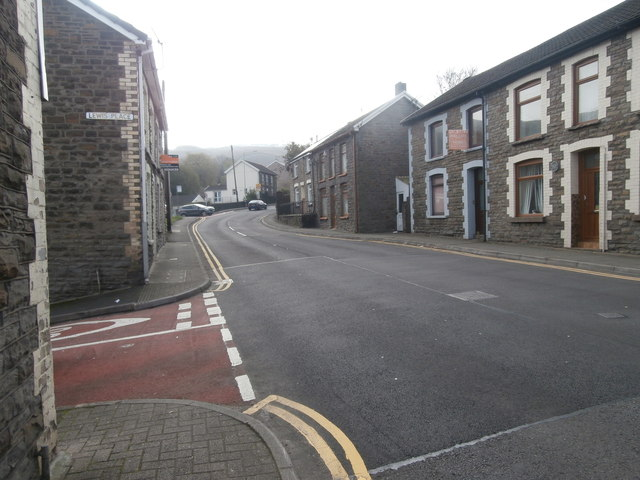 High St, Cymmer