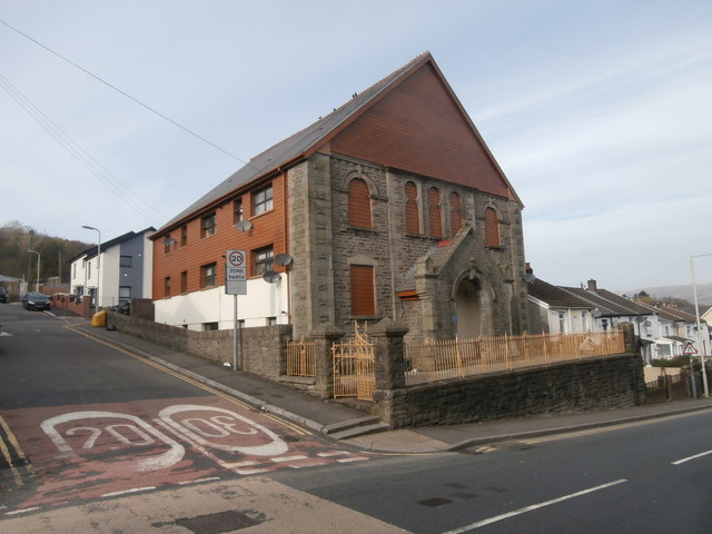 Former chapel, Cymmer, Porth