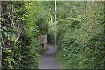 SU8693 : Urban footpath by N Chadwick