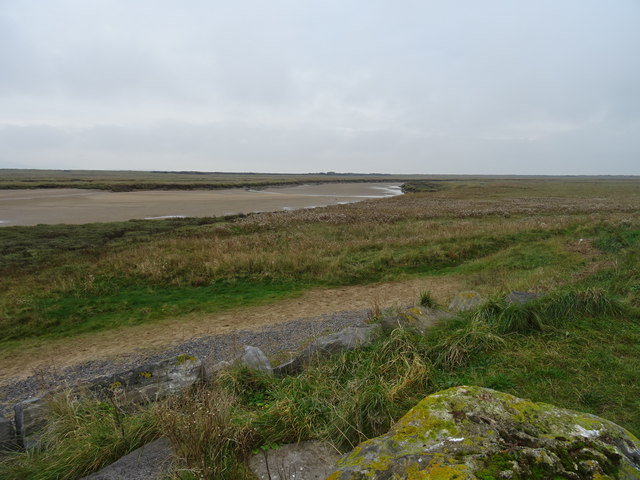 Channels on Pembrey Borrows