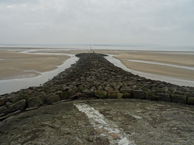 Southern end of Burry Port Breakwater