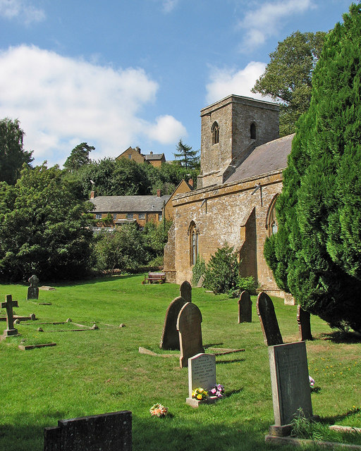 In Ratley churchyard
