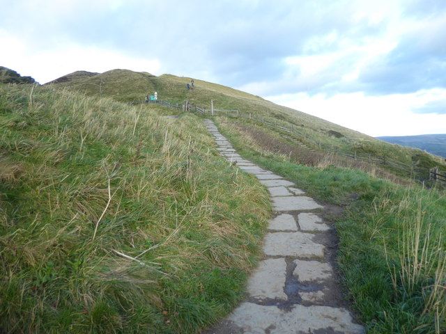 Path up to Mam Tor