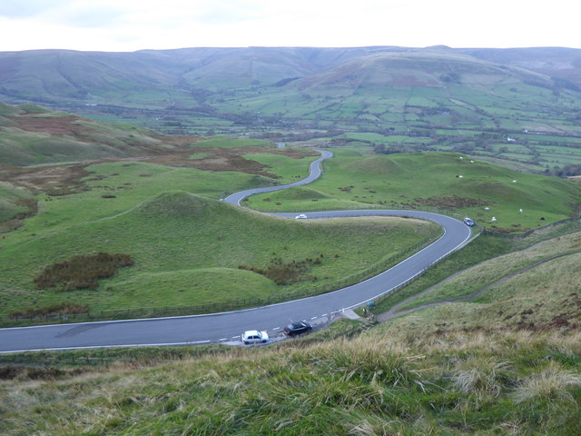 Road down to Edale