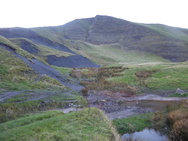 Subsidence at Mam Tor