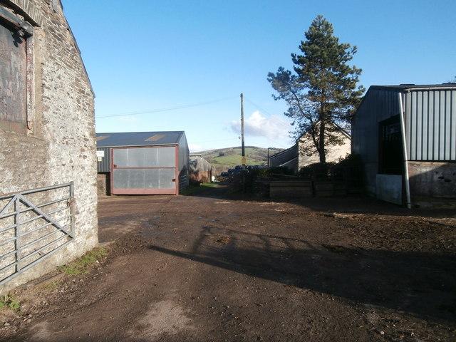 Ty-uchaf Farm, Rhiwsaeson