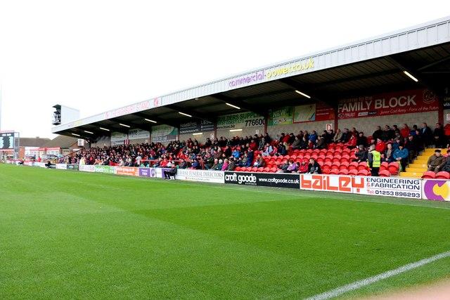 The Highbury Stand in Highbury Stadium