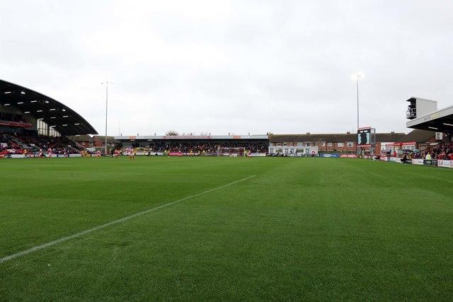 The Percy Ronson Stand at Highbury Stadium