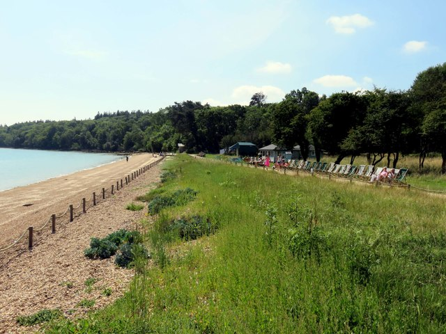 The path by the beach in the grounds of Osborne House