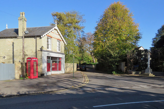 Whittlesford: the corner of Church Lane