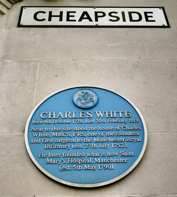 Blue plaque: Charles White