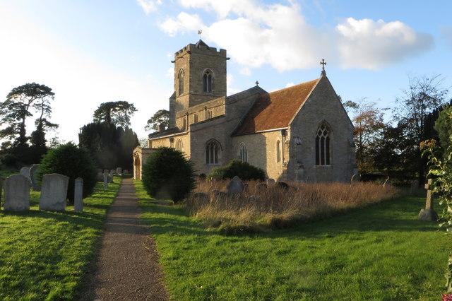 St Mary's church Carlton