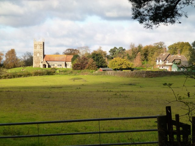 West Newton in Norfolk viewed from Appleton Drove