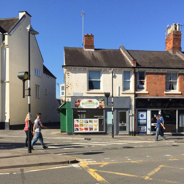 Former greengrocer's shop, St John's, Warwick
