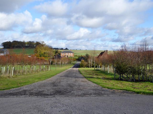 Lodge Farm (as mapped)