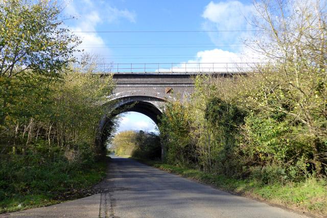 Railway bridge, Slip End