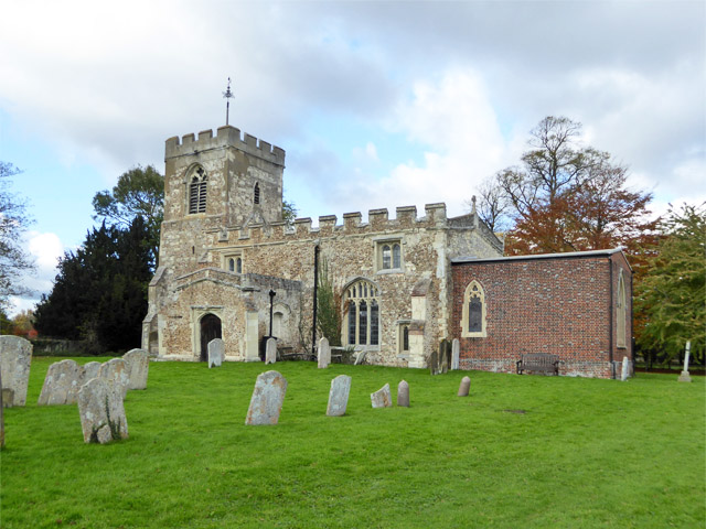 Hinxworth church