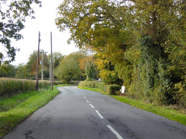 Road heading west, Edworth