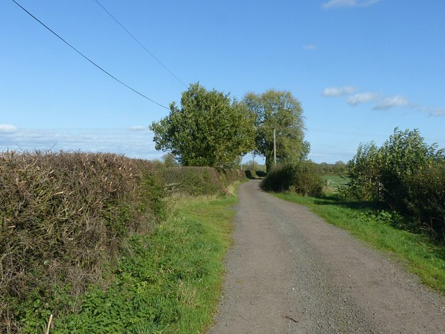 Saltbrook Lane near Coton in the Clay
