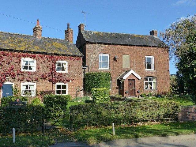 The Laurels and Coton Farmhouse